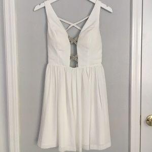 Gianni Bini White Dress Juniors XS